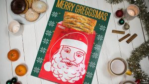Greggs Christmas.