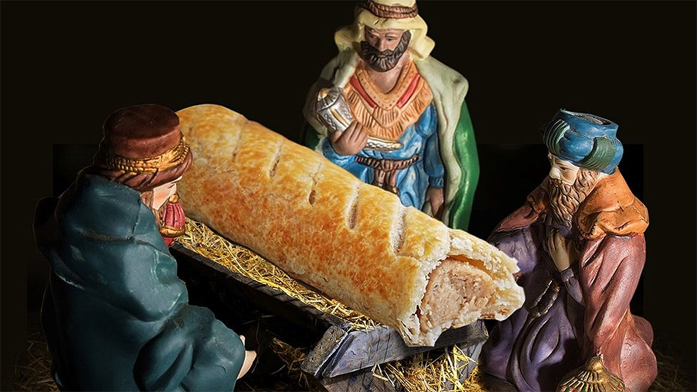 Greggs Sausage Roll Instead of Jesus.