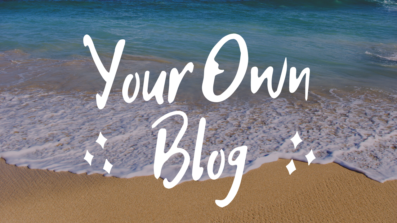 your own blog thumbnail