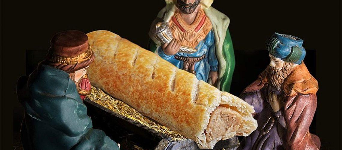 Greggs Sausage Roll Instead of Jesus.