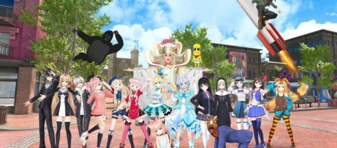 Anime people.