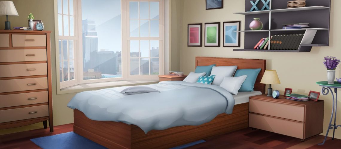An anime bedroom