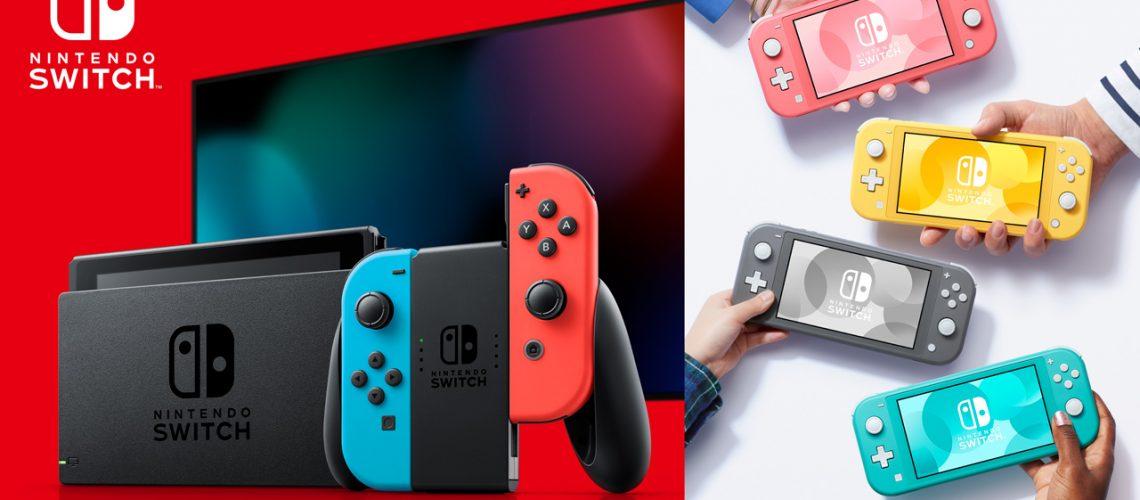 Nintendo Switches.